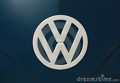 VW Logo Editorial Stock Image