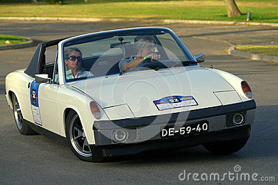 VW Porsche 914 (1972) Editorial Image