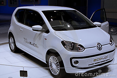 VW UP on 64rd IAA Editorial Stock Image