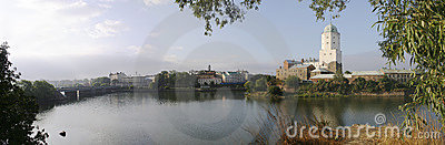 The Vyborg fortress...