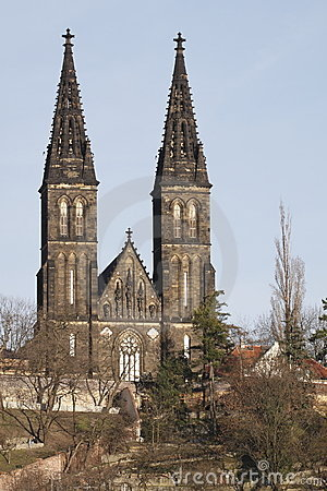 Free Vysehrad Cathedral Stock Image - 18941901