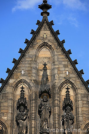 Free Vysehrad Cathedral Stock Image - 5258841