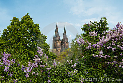 Vysehrad - Peter and Paul Cathedral in Prague