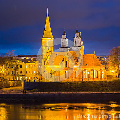 Free Vytautas The Great Church In Kaunas, Lithuania Royalty Free Stock Photos - 30634518