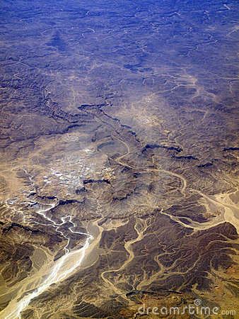 Wüstengelände