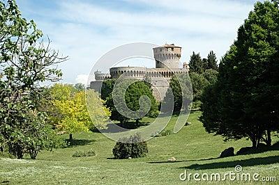Włoch volterra zamek
