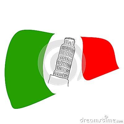 Włoszczyzny flaga