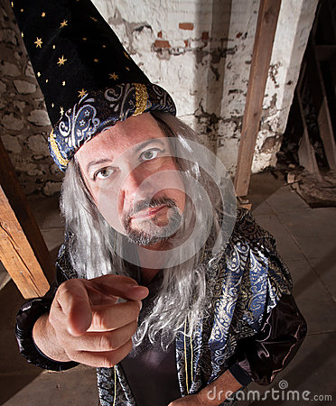 W Średnim Wieku czarownik