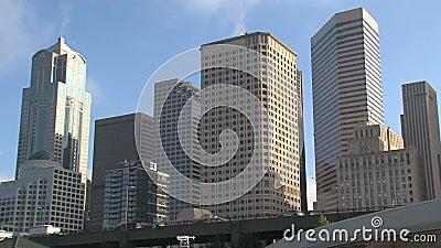 W centrum Seattle, Stany Zjednoczone zdjęcie wideo