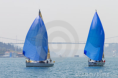 W Collection Sailing Cup Bosphorus 2011 Editorial Stock Image