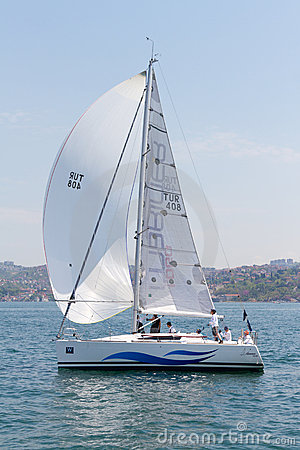 W Collection Sailing Cup Bosphorus 2011 Editorial Stock Photo