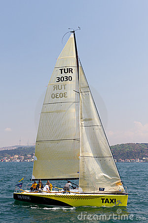 W Collection Sailing Cup Bosphorus 2011 Editorial Image