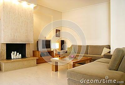 W domu projektu wnętrze