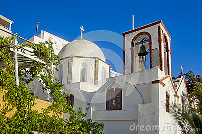 W Fira kościół, Santorini