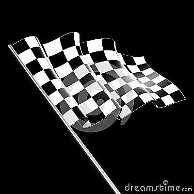 W kratkę Flaga