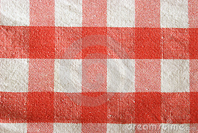 W kratkę tablecloth