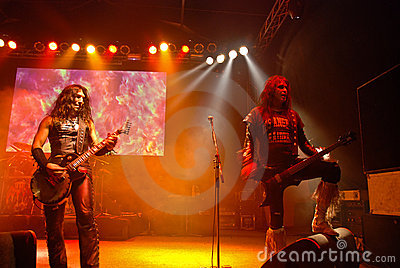 W.A.S.P. in Concert Editorial Photography