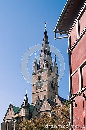 W Sibiu ewangelicki Kościół