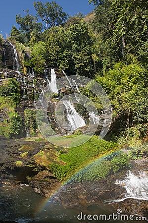 Free Wachirathan Waterfall Thailand Stock Photos - 59605303