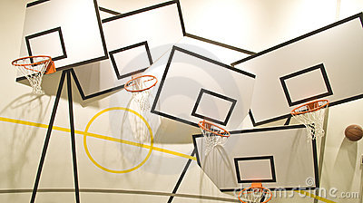 Wacky basketball
