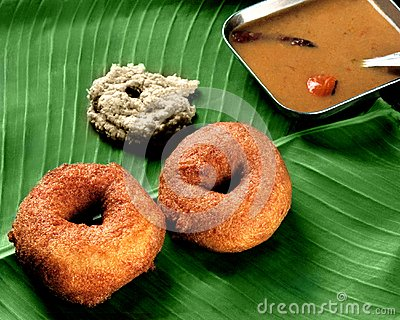 Wada Sambar for Breakfast