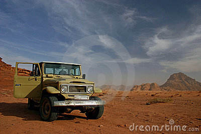Wadi Rum Editorial Photo