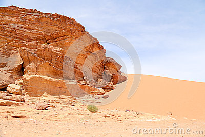 Wadi Rum Desert also known as The Valley of the Moon