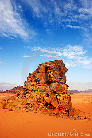 Free Wadi Rum Desert In Jordan Royalty Free Stock Photos - 1840468
