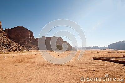 Wadi rum view