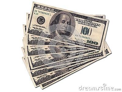Wads do dinheiro