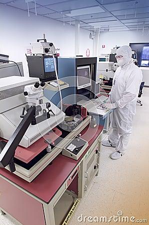 Wafer analysis lab