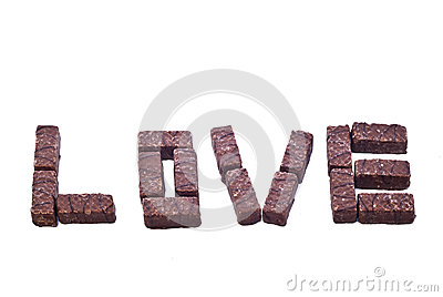 Wafer Chocolate love