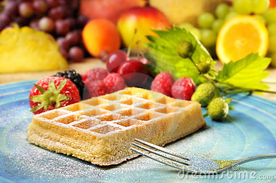 Waffles & Fruits