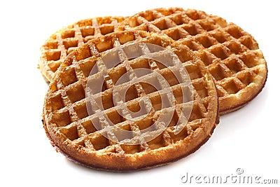 Waffles on White
