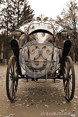 Wagen von den Märchen
