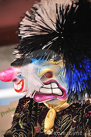 Waggis traditional carnival mask