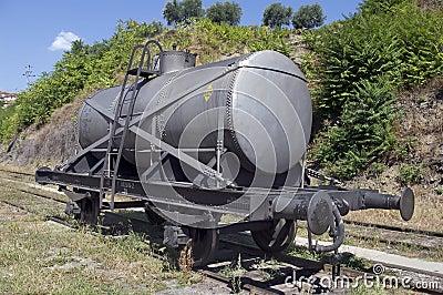 Wagon cistern