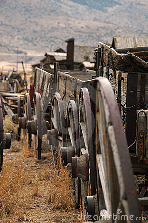 Free Wagon Train Royalty Free Stock Photos - 4935558