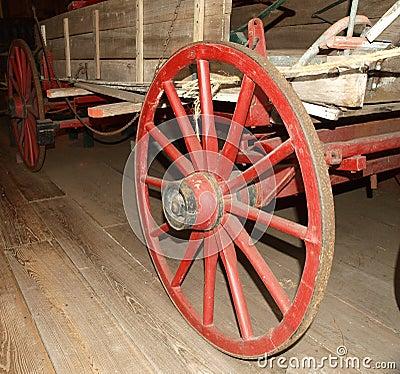 Free Wagon Wheel Stock Photography - 9444272