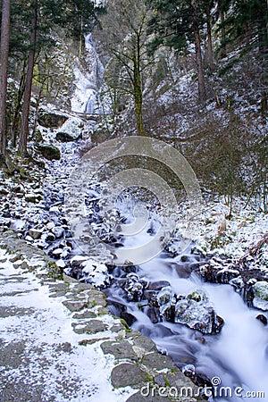Free Wahkeena Falls Royalty Free Stock Images - 7576669