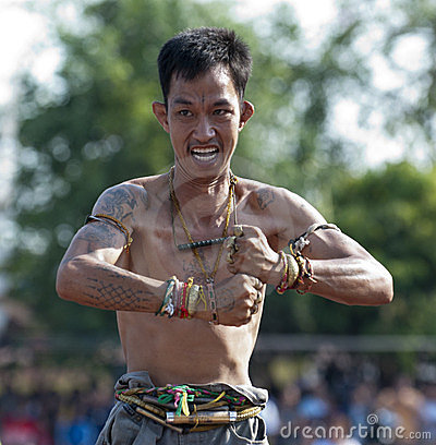 Wai Khru Day Devotee Editorial Photography