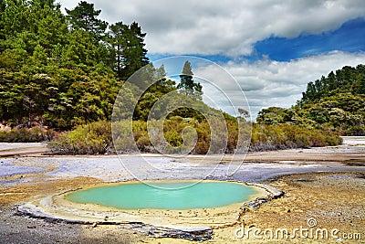 Wai-O-Tapu thermal area, New Zealand