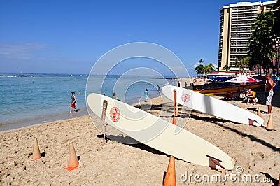 Waikiki beach Editorial Photography