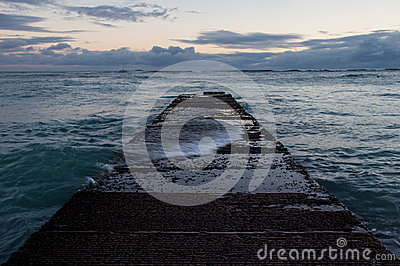 Waikiki breakwater
