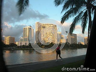 Waikiki jog