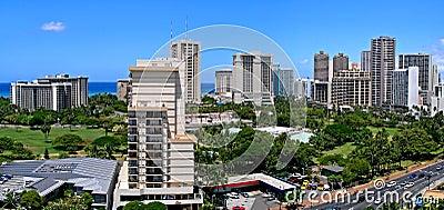 Waikiki Skyline Panorama