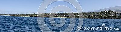 Wailea Ocean Shore Panorama