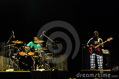 The Wailers in Concert Editorial Stock Photo