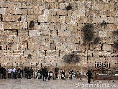 Wailing wall Editorial Image