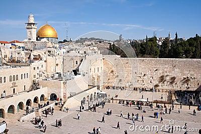 Wailing Wall - Israel Editorial Photography